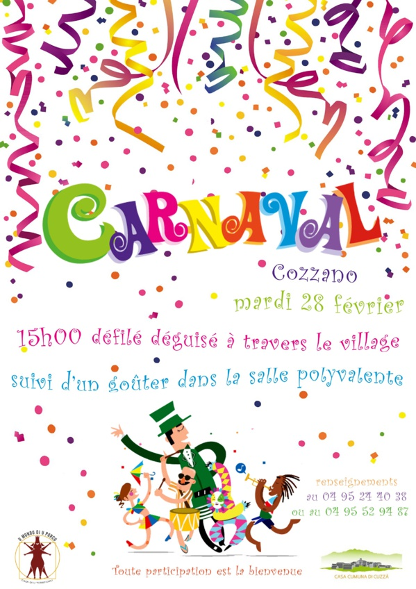 Fêtons la carnaval !