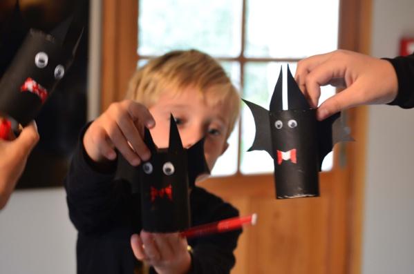 Tremblez, voici nos chauves-souris d'Halloween