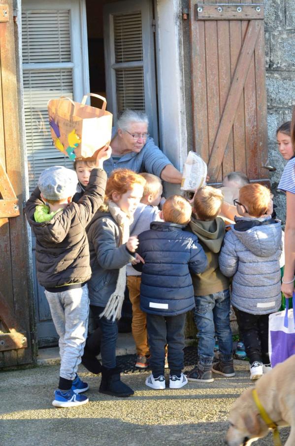 Le 28 novembre, le centre d'interprétation a fêté la Sant'andria