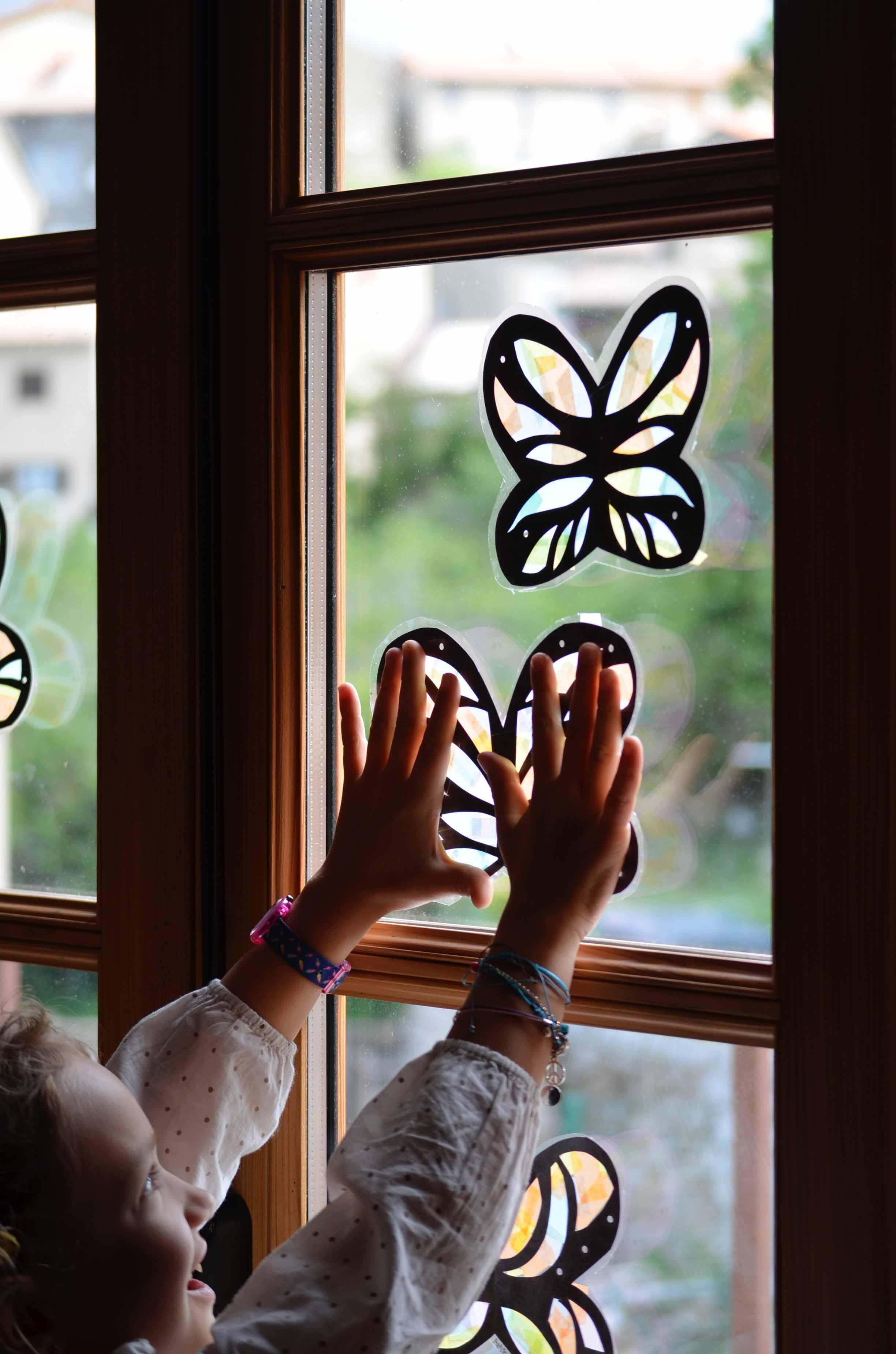 Des papillons plein les yeux