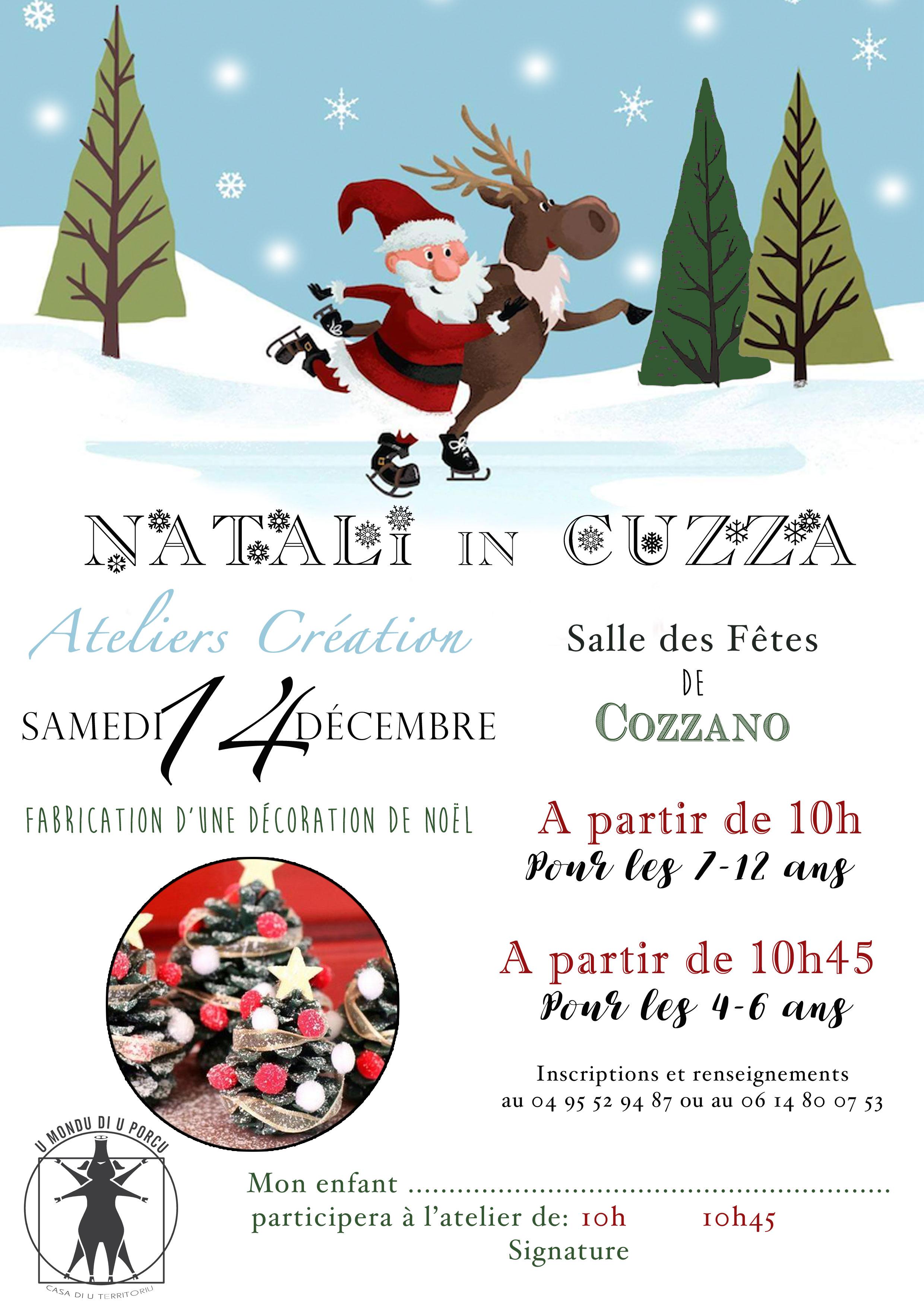 Retrouvez-nous au marché de Noël à Cuzzà