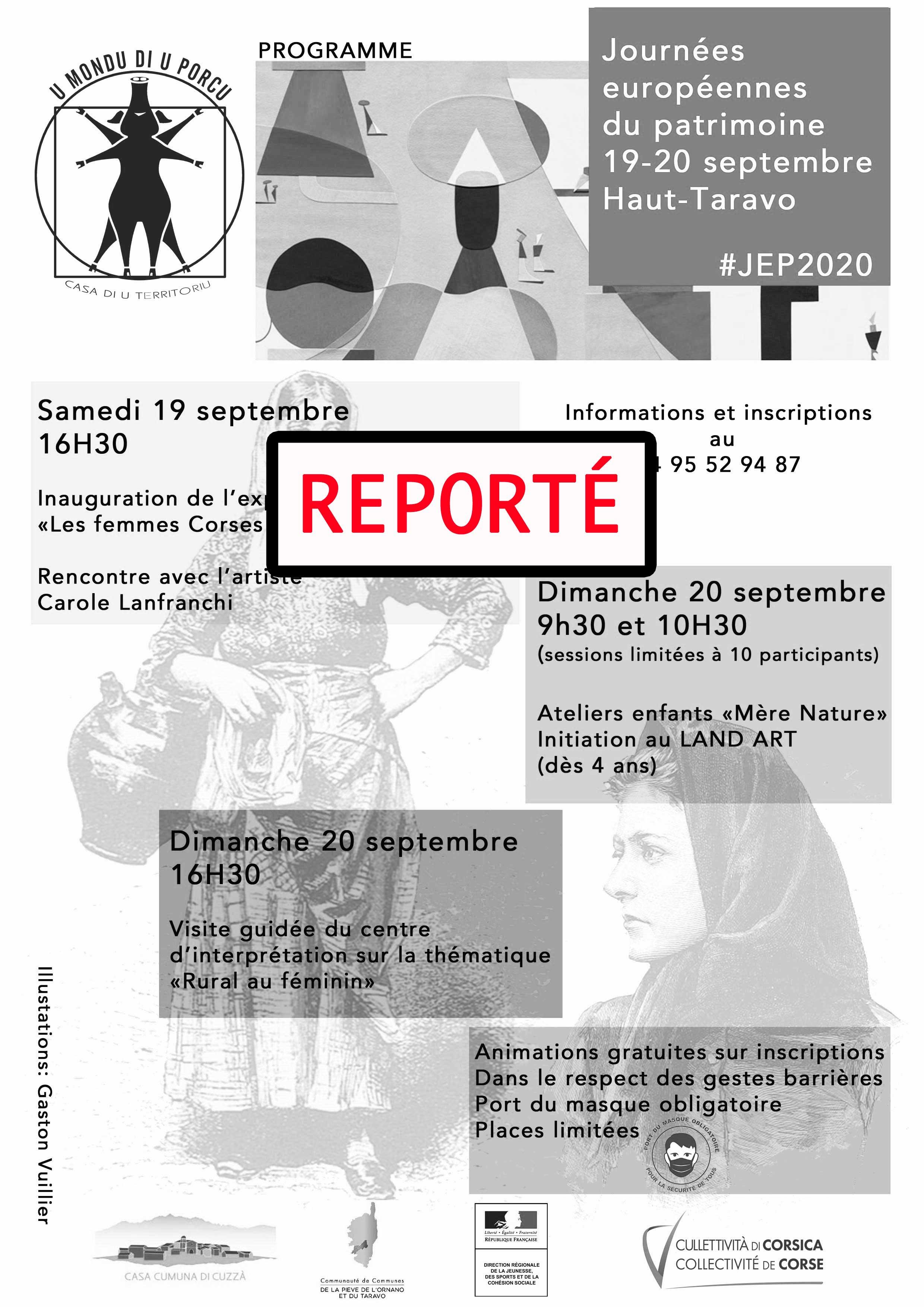 Programme des Journées du patrimoine 2020