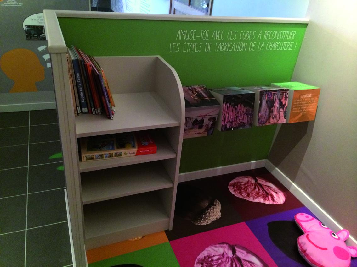 L'espace pédagogique