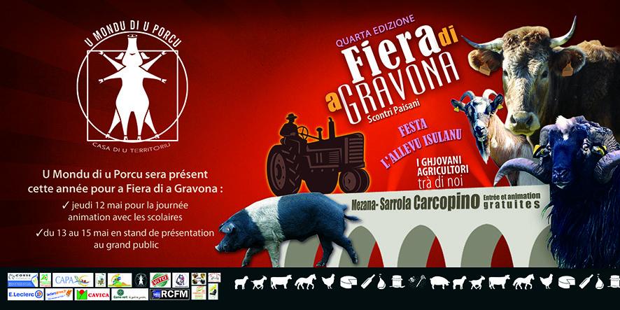Mondu di u Porcu à Fiera di a Gravona