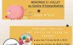 Prochain atelier pour enfant du mois de juillet